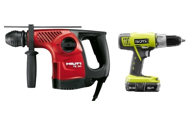 Impact Driver And A Hammer Drill